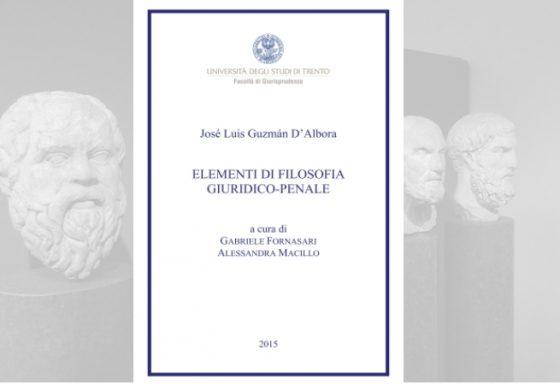 Elementi di filosofia giuridico-penale