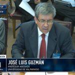 Profesor Guzmán en el Senado
