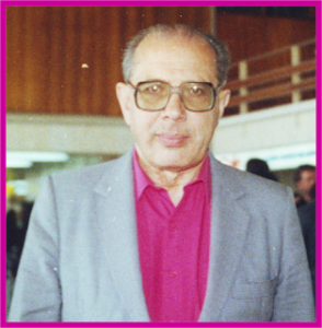 MANUEL DE RIVACOBA. FOTO POR ALFONSO HERNÁNDEZ MOLINA. PUDAHUEL 1988