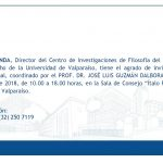 """Invitación a Seminario """"Criminología y Justicia Penal"""""""